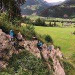 Trainingslager Tag 1: Anreise, Klettersteig und Biwak