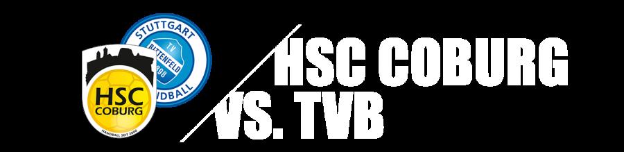 17. Spieltag - HSC 2000 Coburg - TVB Stuttgart