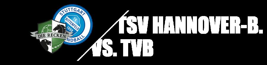 32. Spieltag - TSV Hannover-Burgdorf - TVB Stuttgart